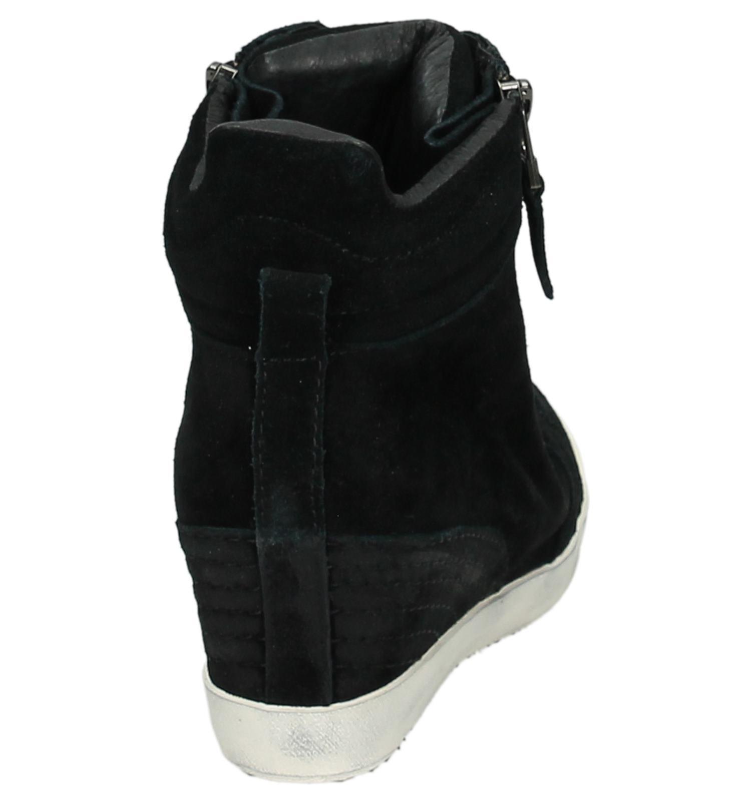 23edce4d59f Sneaker met Sleehak Zwart Newblue | TORFS.BE | Gratis verzend en retour
