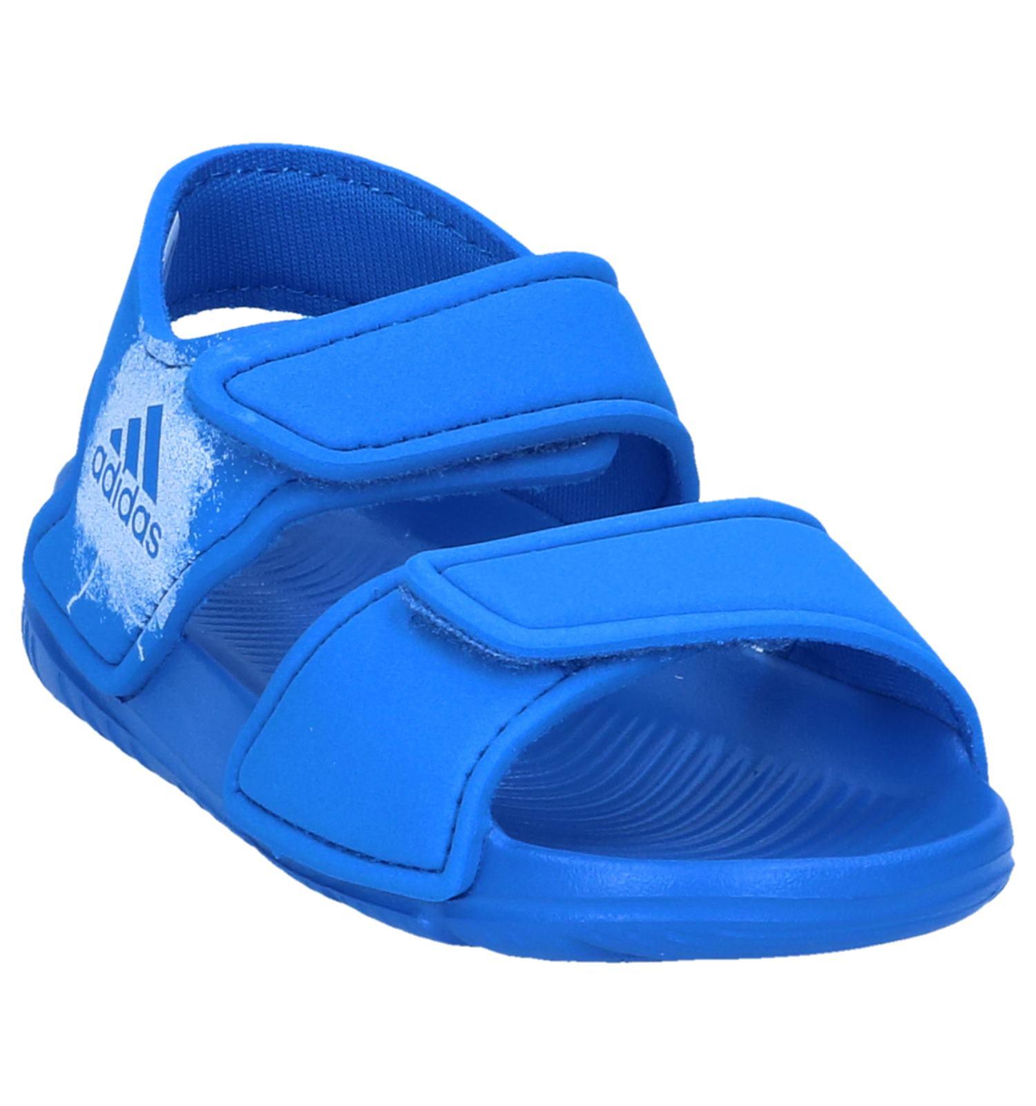 new styles 3e85a a8d0e Blauwe Watersandalen adidas Altaswim  TORFS.BE  Gratis verzend en retour