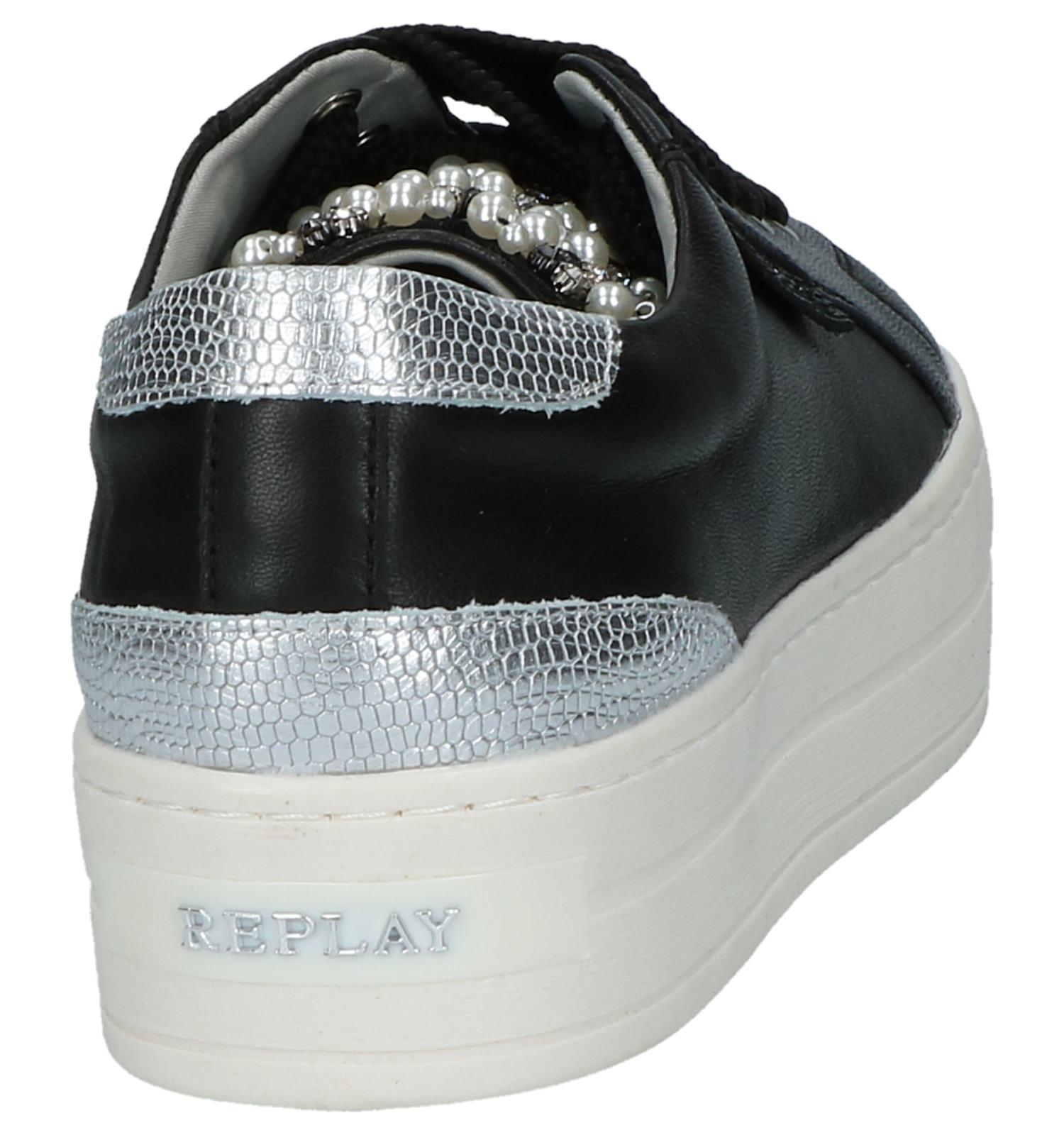 Zwarte Dikke Replay Gratis be Verzend Torfs Sneakers Met Zolen qZrq1x