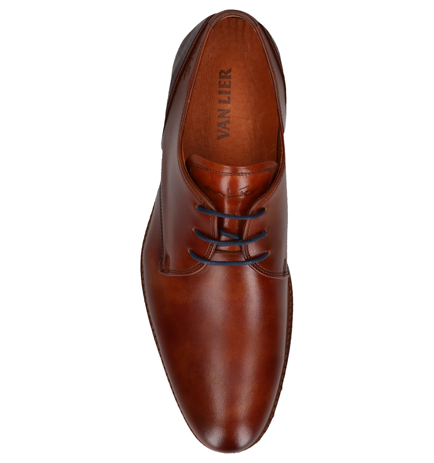Van Lier Chaussures habillées en Cognac | TORFS.BE | Livraison et retour gratuits