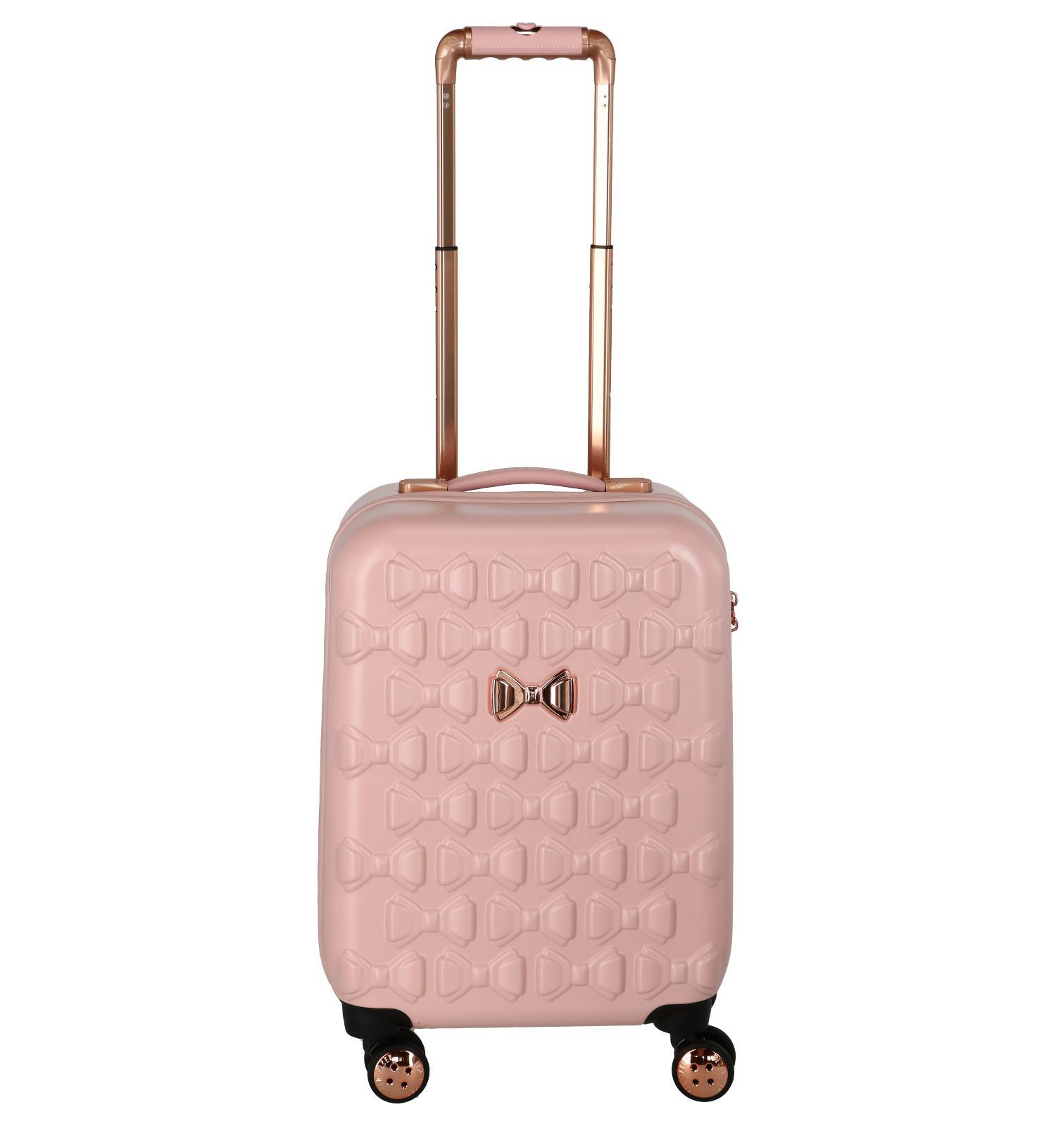 8711c901800 Roze Trolley Ted Baker - beautycase apart verkrijgbaar art. 227325    TORFS.BE   Gratis verzend en retour