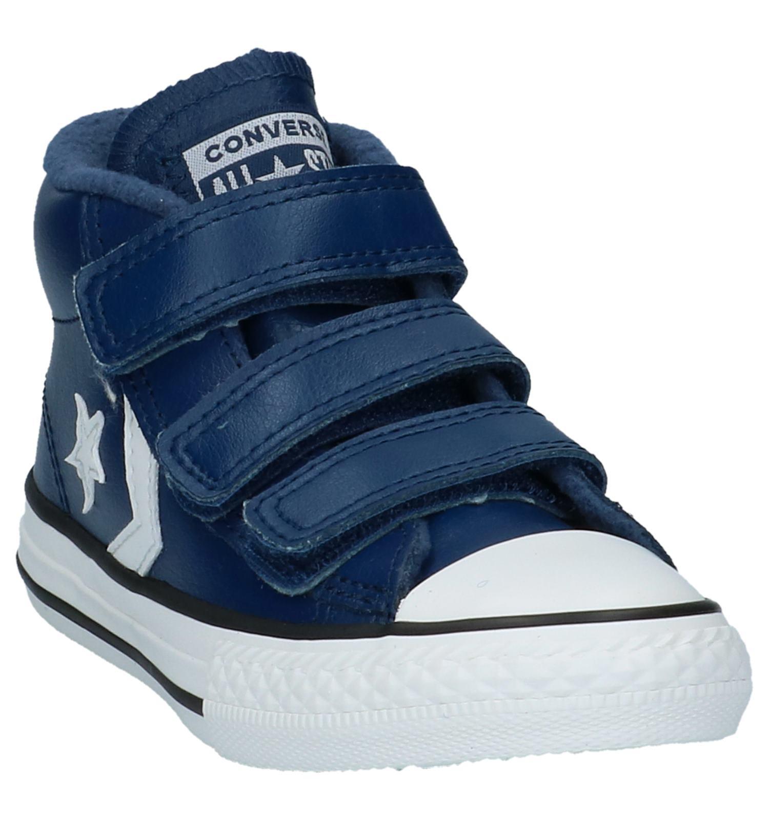 b4579cd0e35 Blauwe Sneakers Converse Star Player 3V Mid | TORFS.BE | Gratis verzend en  retour