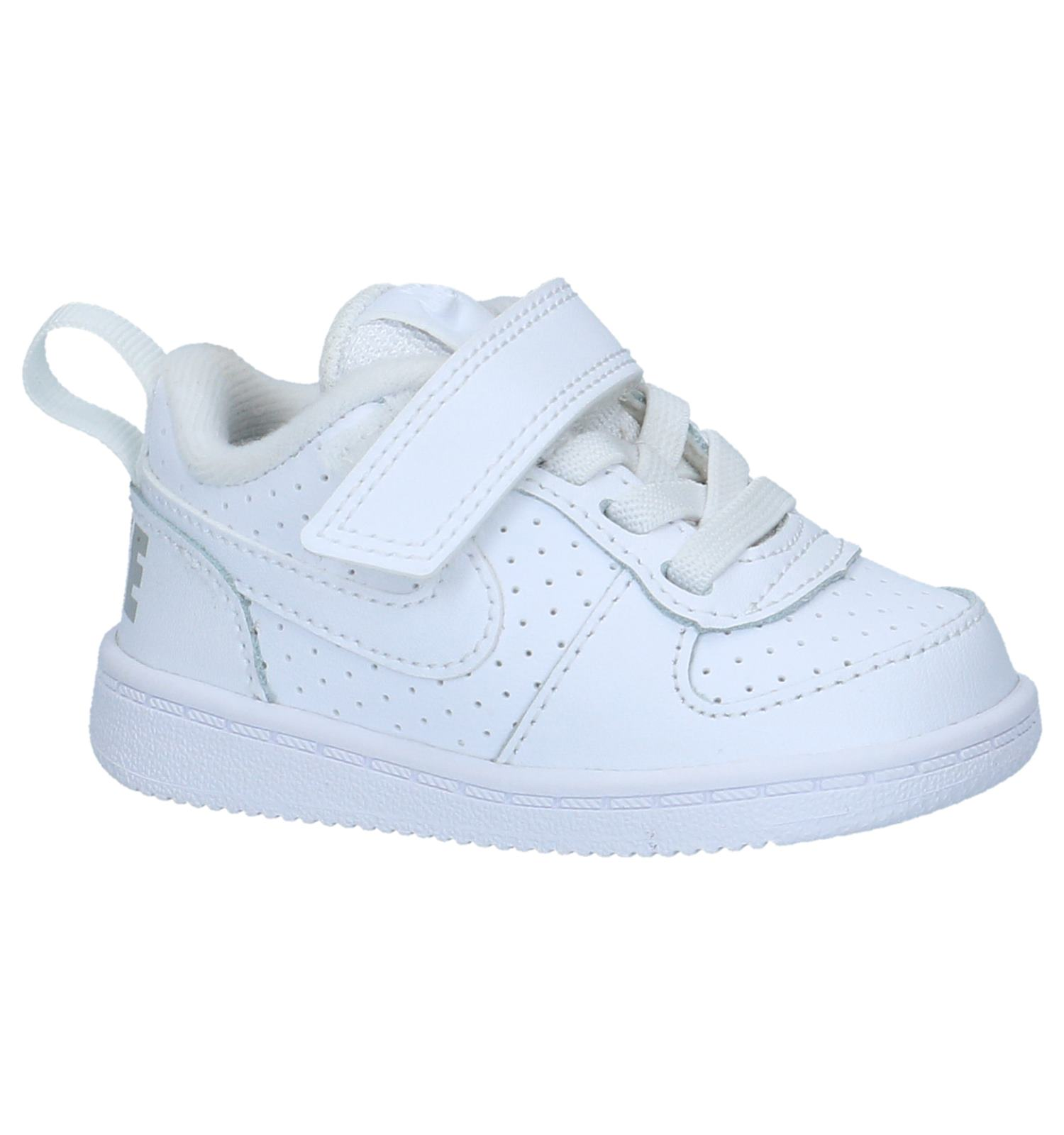 0c8d8b04357 Witte Sneakers Nike Court Borough | TORFS.BE | Gratis verzend en retour