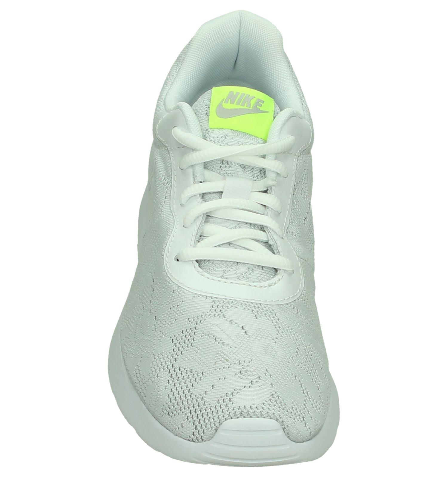 nike tanjun sneakers wit dames