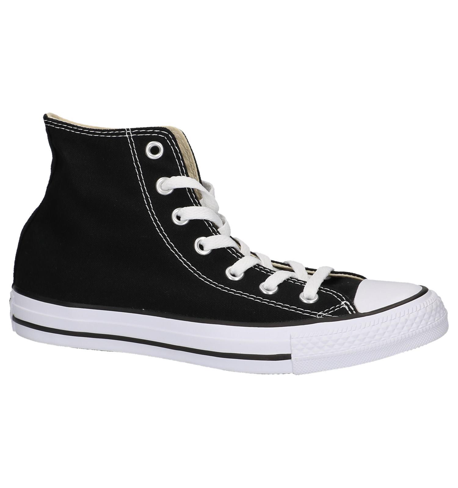 zwarte converse all stars