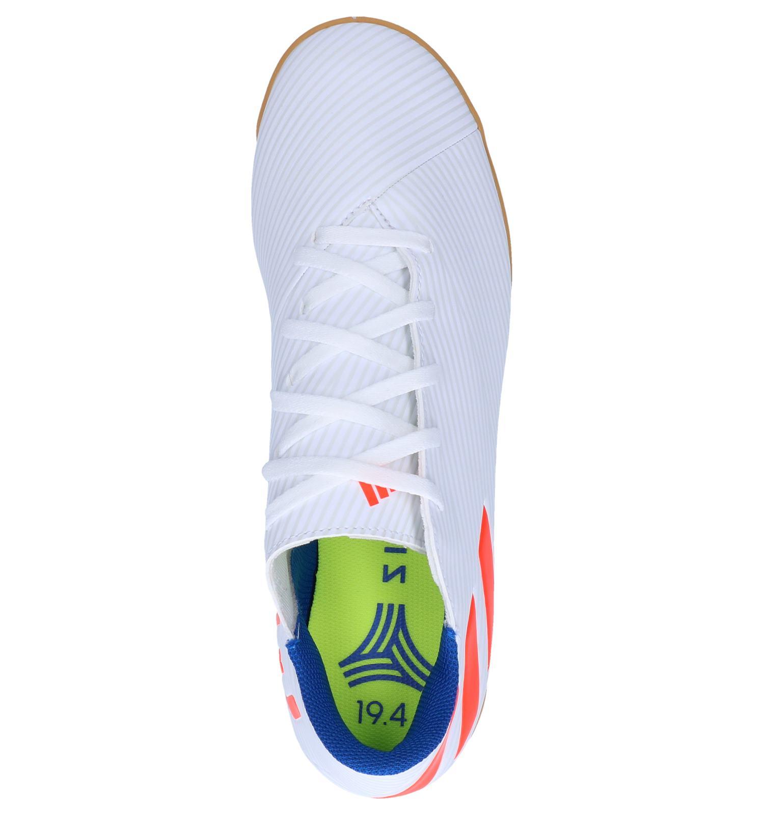 Witte Zaalvoetbalschoenen adidas Nemeziz Messi | TORFS.BE ...