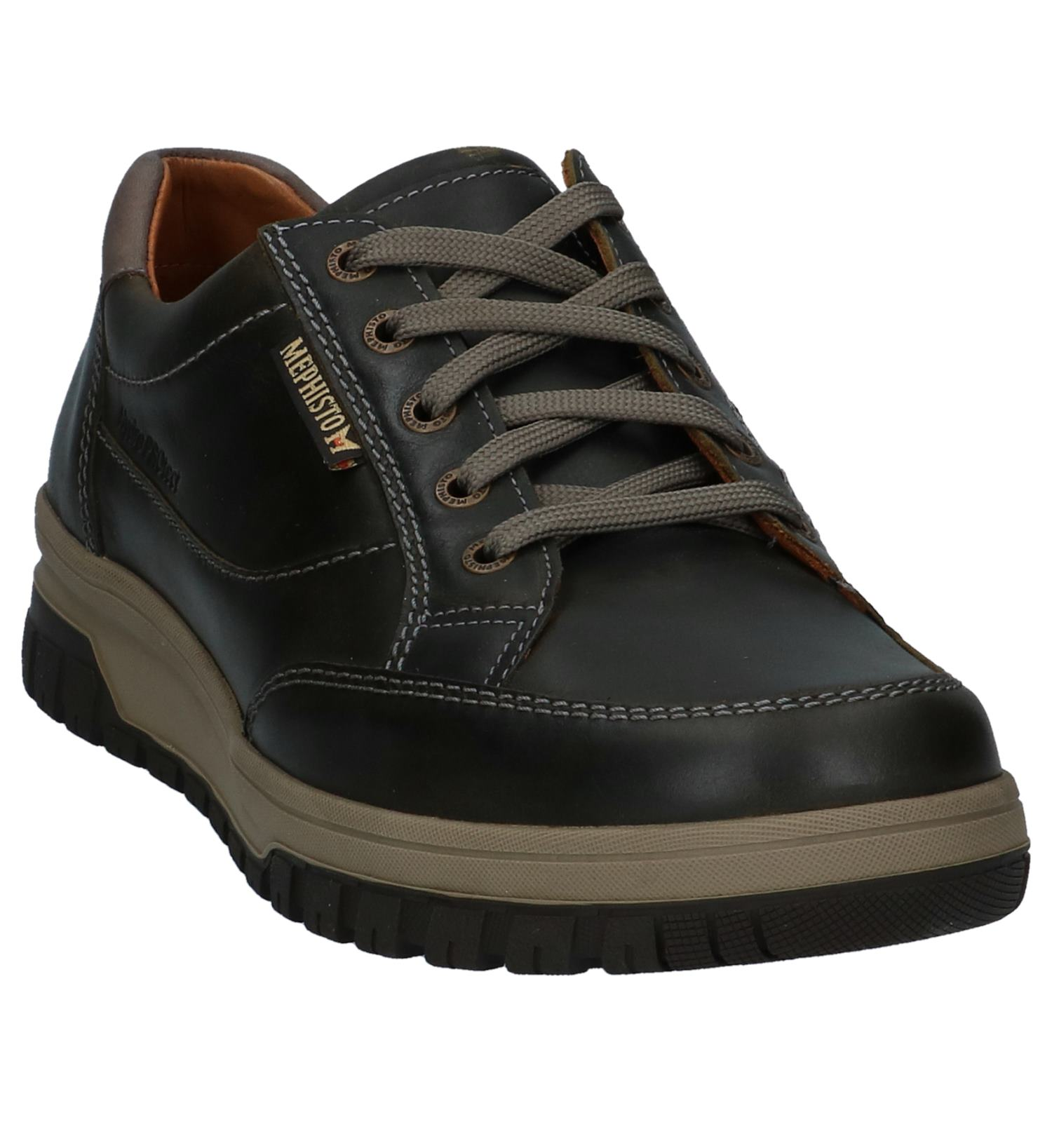 Donkerbruine Torfs Schoenen Mephisto be Hydro Protect Casual q0FxB1p