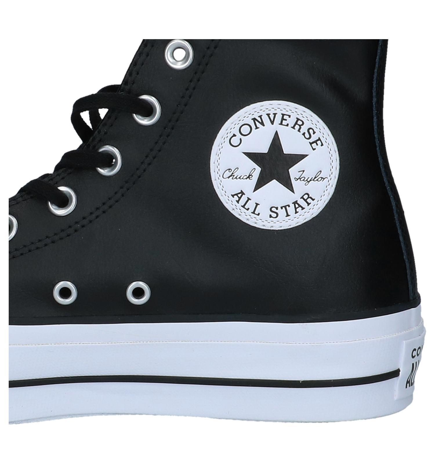 a004c068c6c Converse Chuck Taylor All Star Lift Clean Zwarte Sneakers   TORFS.BE    Gratis verzend en retour