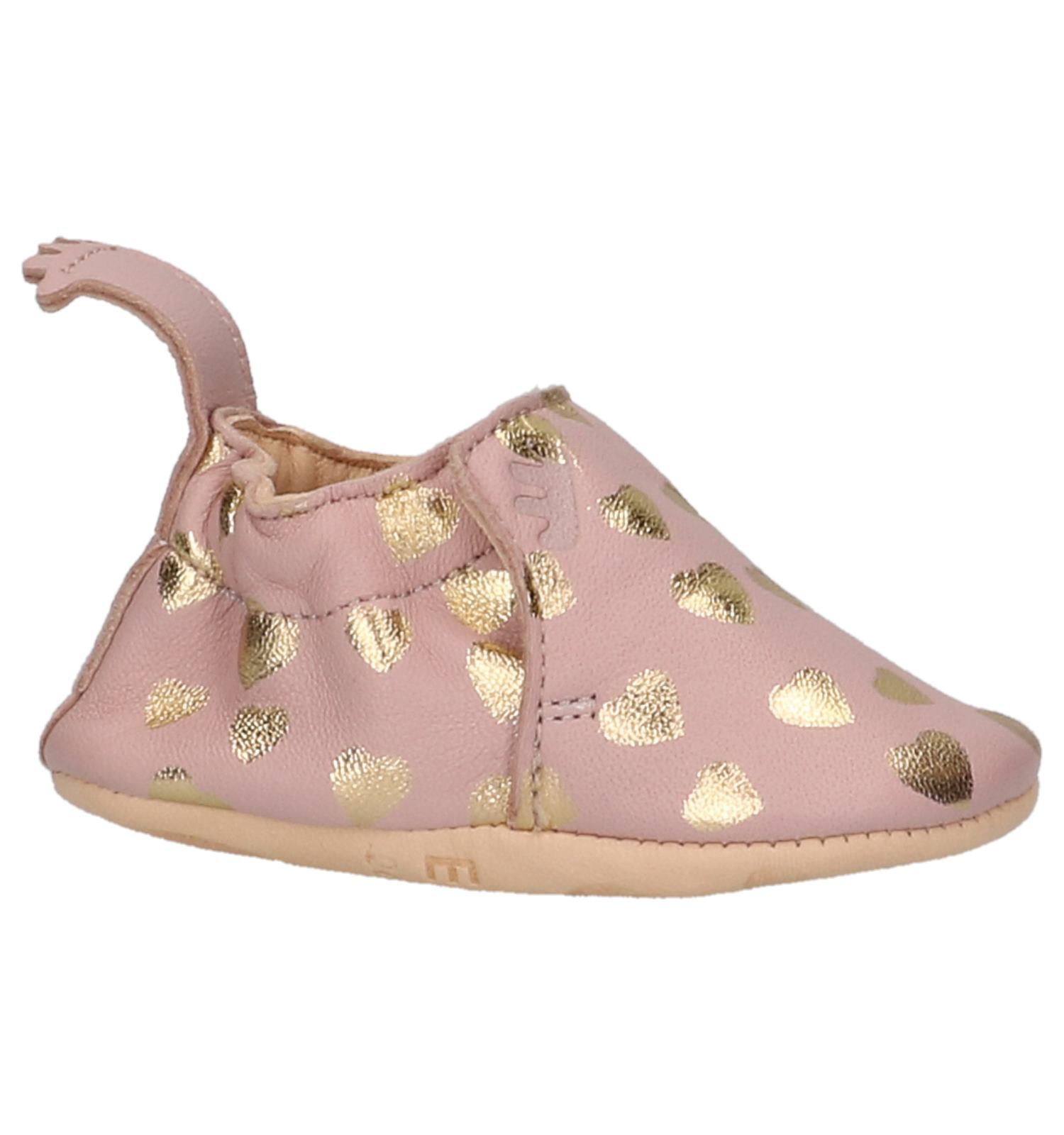 90f7ad17aa9ed Roze Babypantoffels Easy Peasy Blumoo Lovely