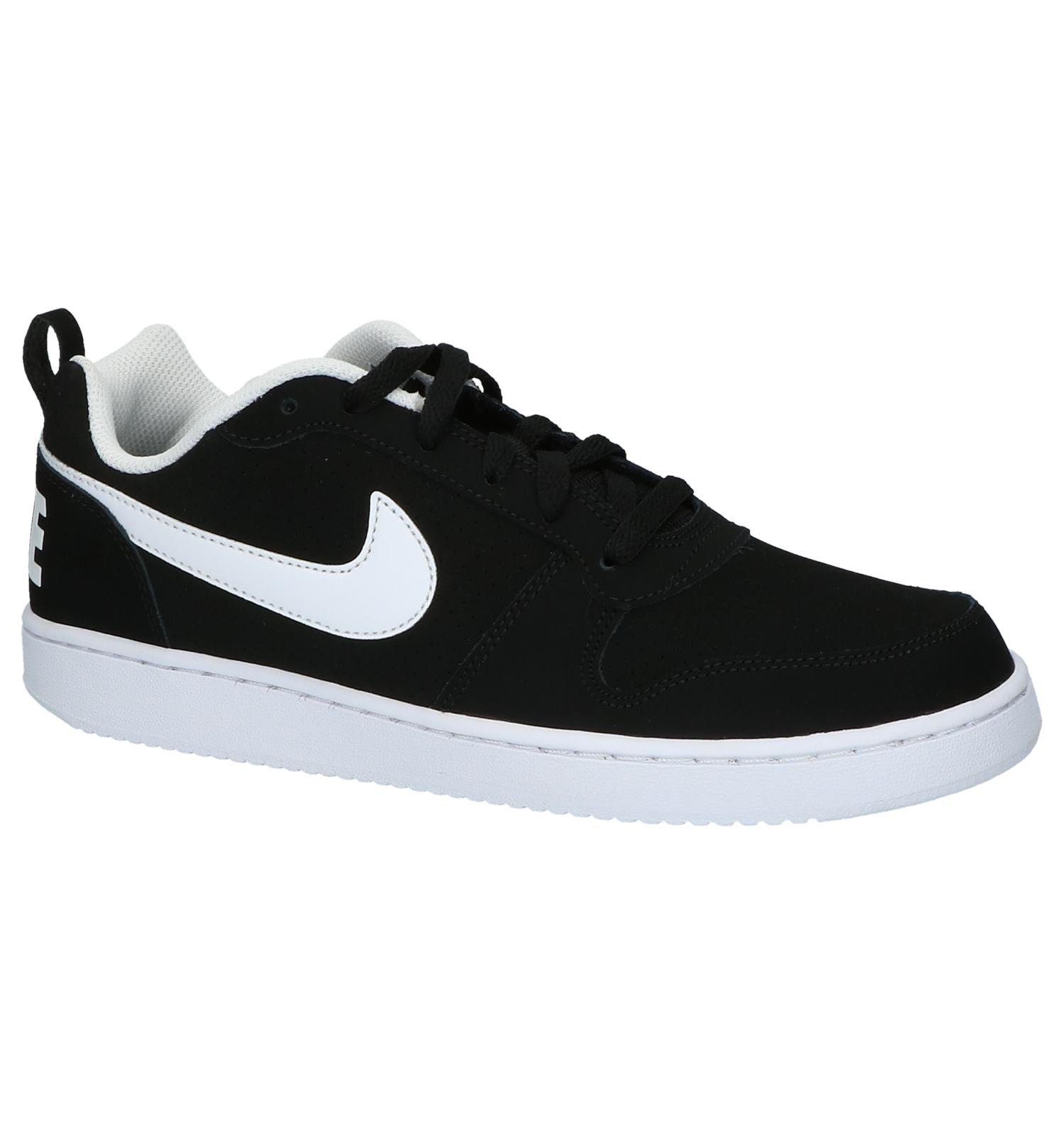 Laag be Court Borough LowTorfs Nike Sneakers Sportief Zwart PkX8w0nO