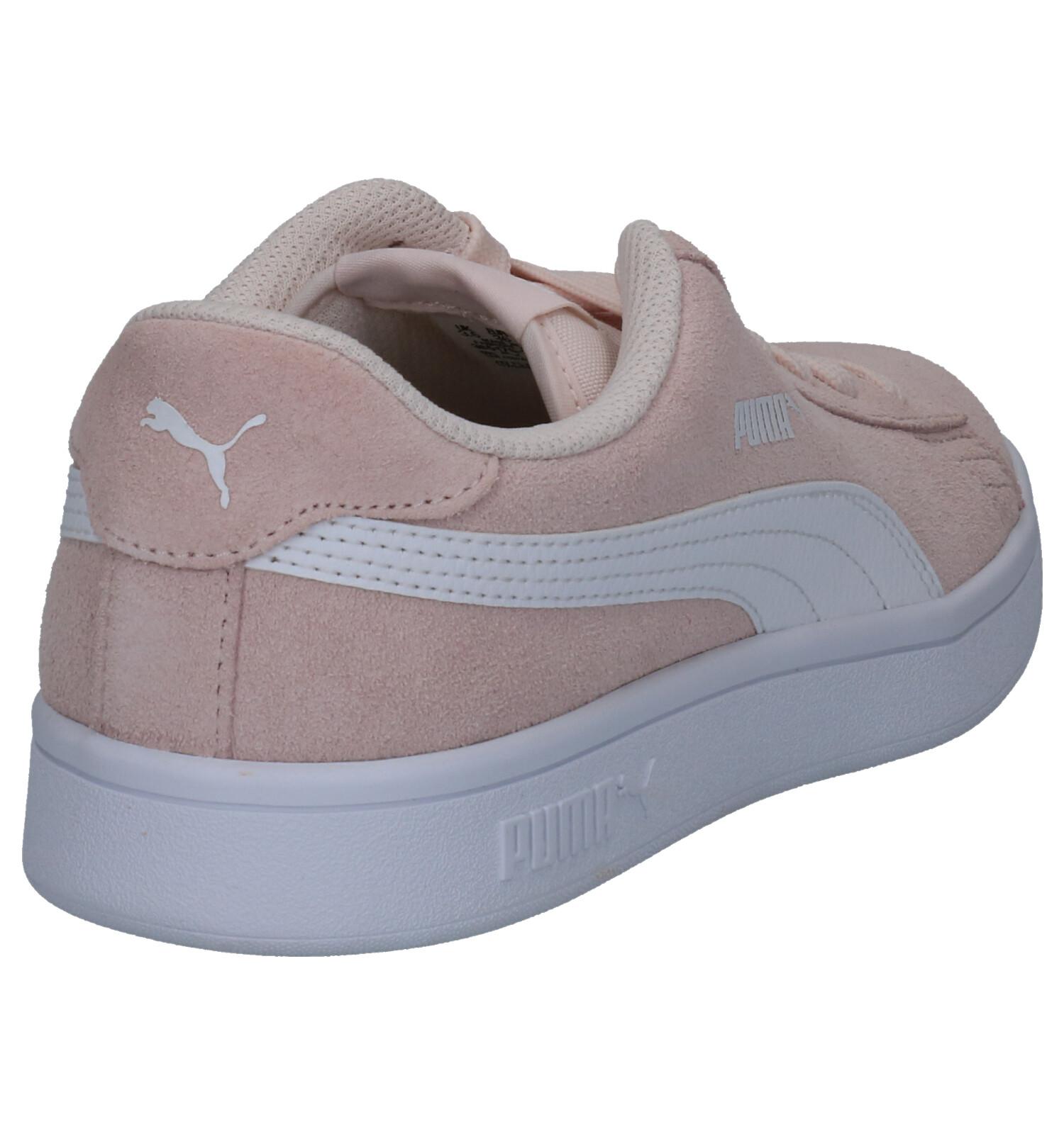 BASKETS PUMA SMASH V2 SD Chaussures Puma rouge   Nouvelle