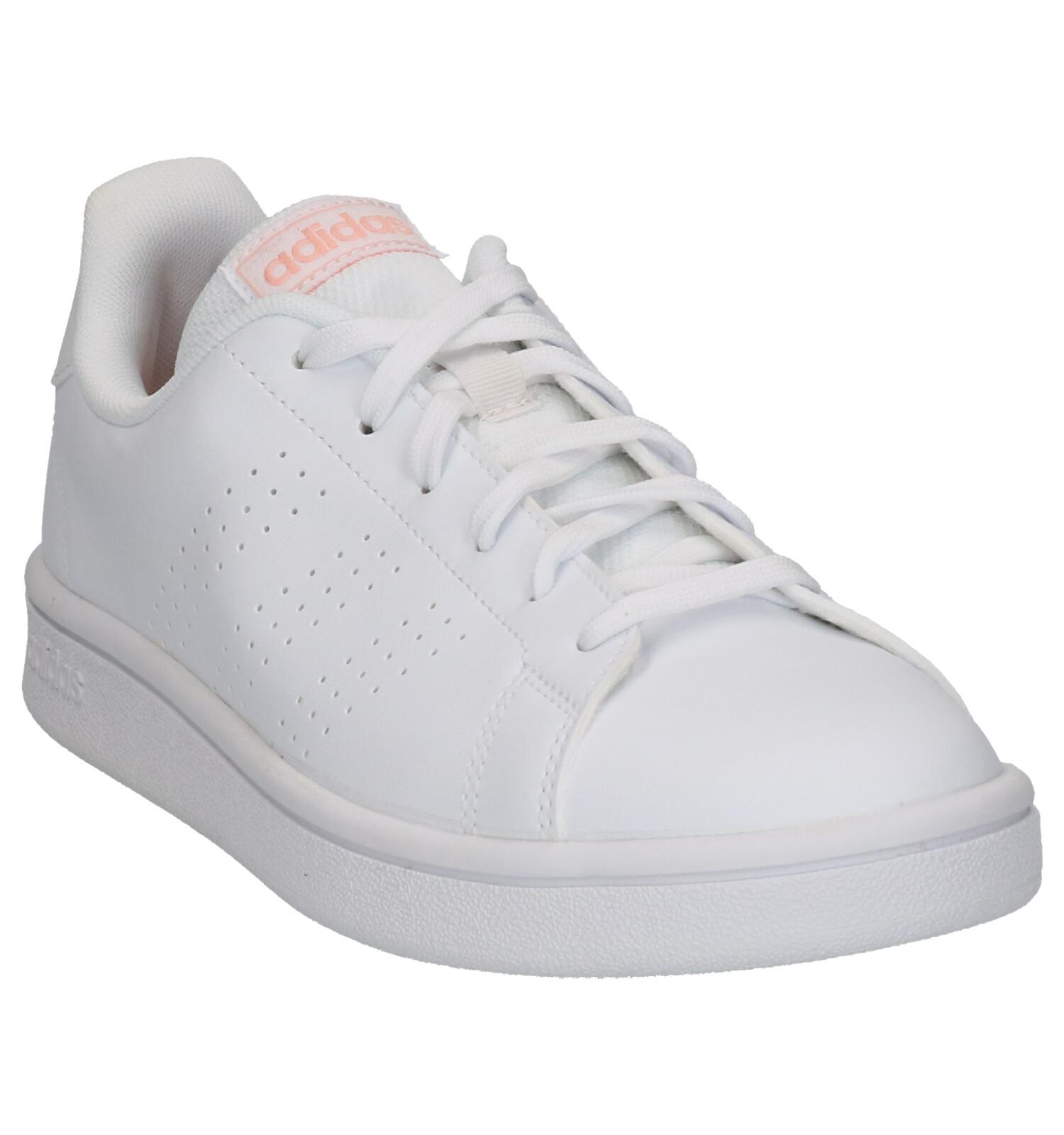 Adidas advantage base blanc | baskets sneakers tennis femme