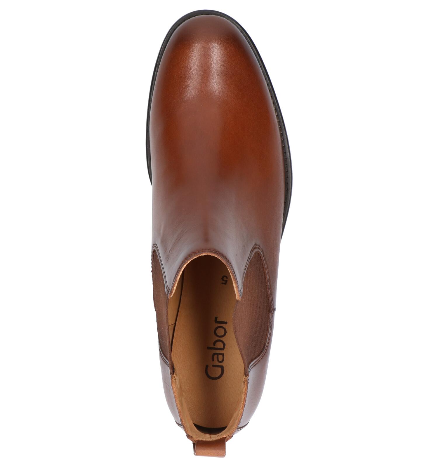 best website bcceb 426c6 Gabor Cognac Chelsea Boots   TORFS.BE   Gratis verzend en retour