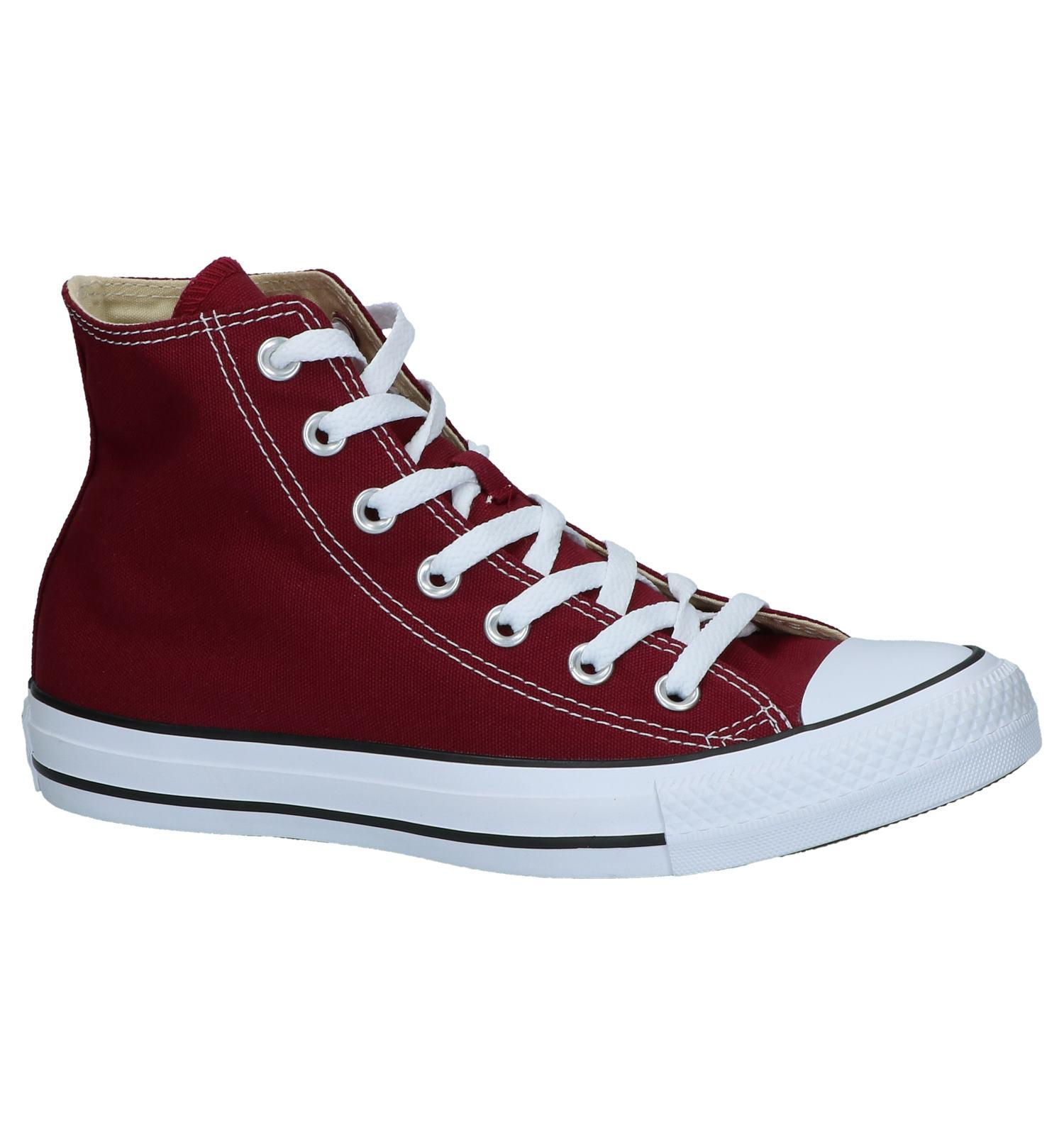 3adec302a44 Hoge Sneakers Bordeaux Converse CT All Star   TORFS.BE   Gratis verzend en  retour