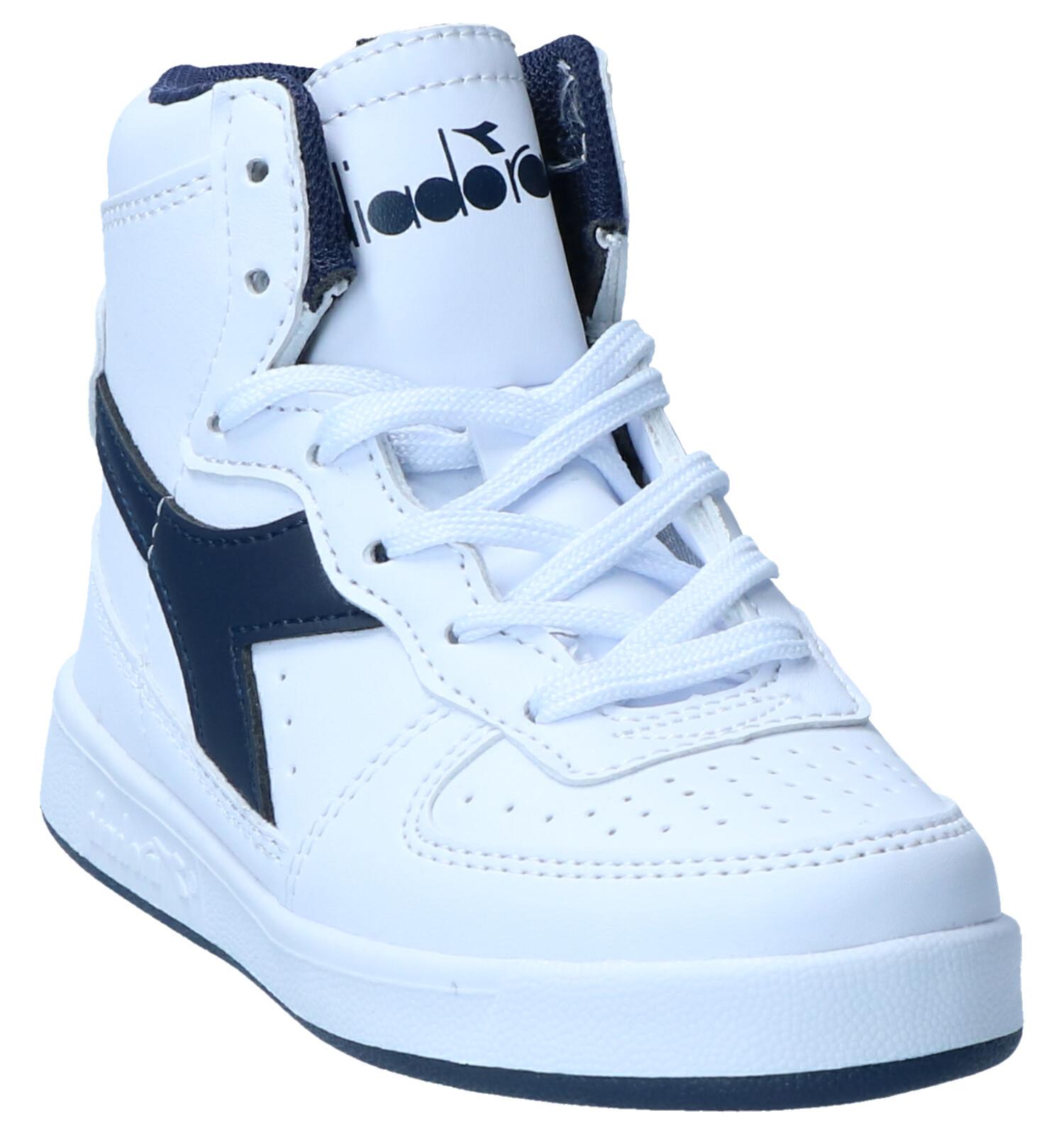 Diadora Mi Basket Witte Sneakers | TORFS.BE | Gratis verzend