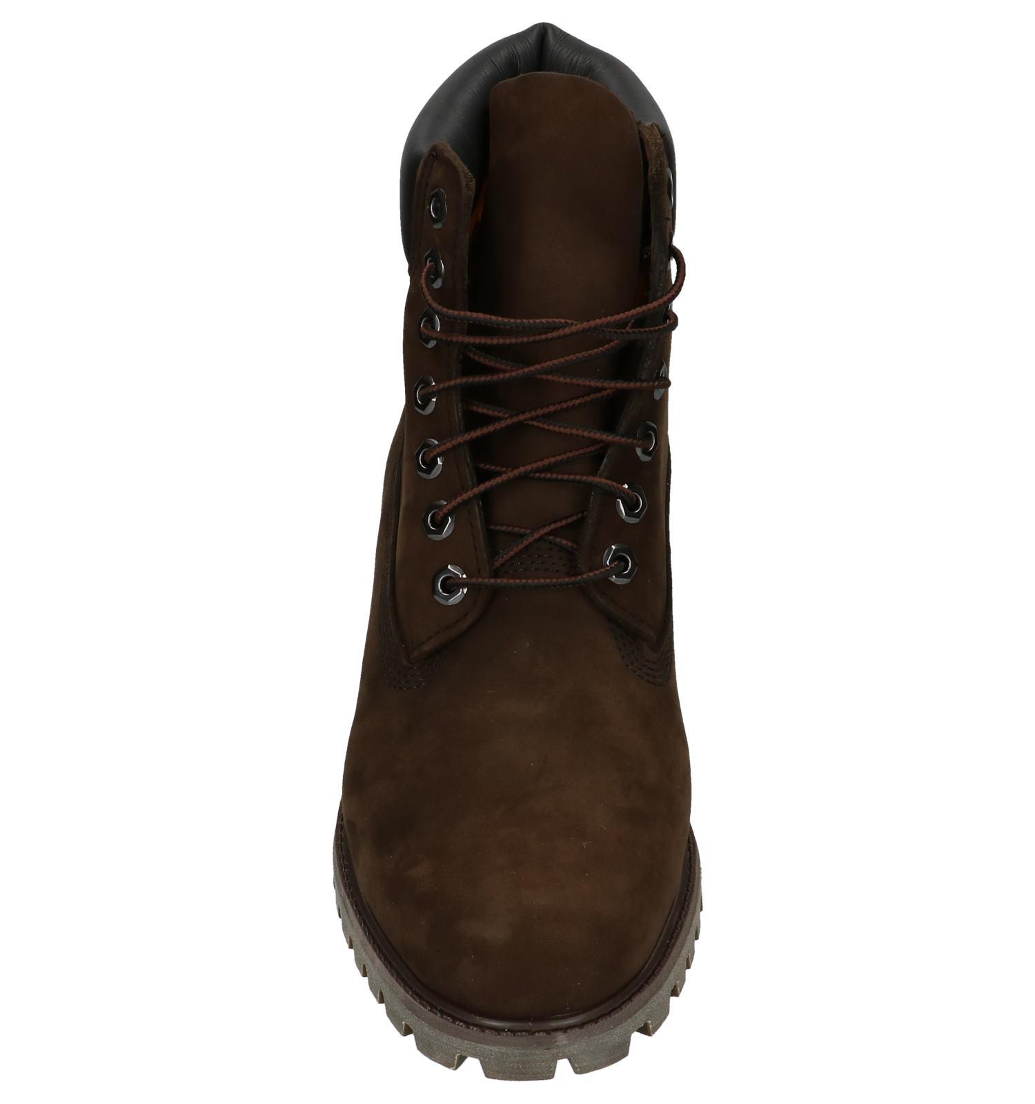 6 Torfs Gratis be Inch Timberland Boots Premium Donkerbruin 6qw5X80x
