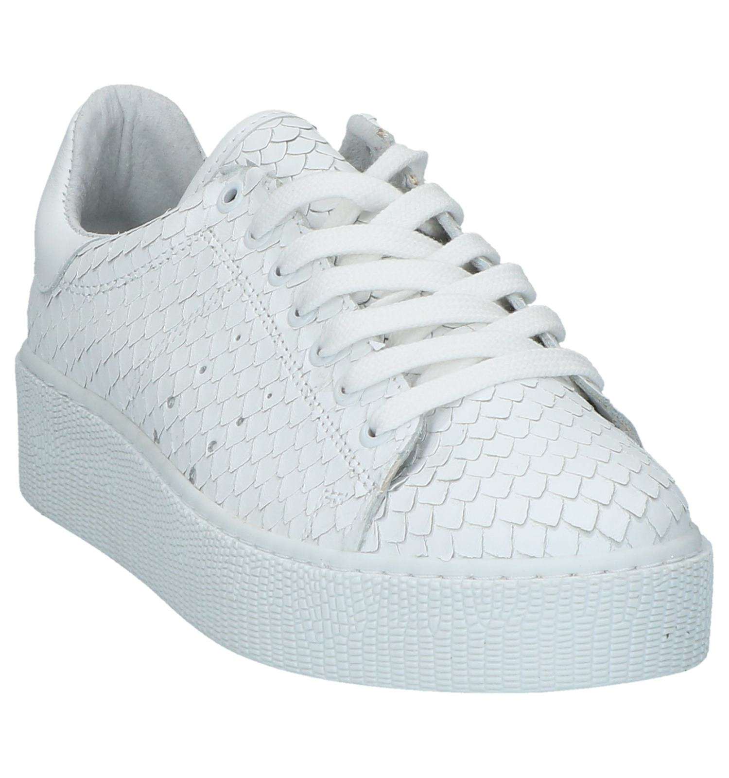 Sneakers Torfs Gratis Chantal Verzend be En Plateau Tango Witte qvxOTtnB