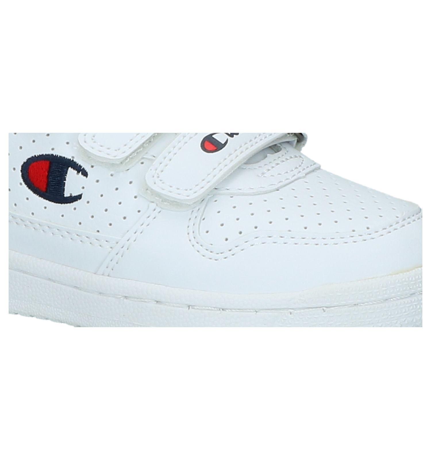 22614de390b Witte Sneakers met Velcro Champion Chicago Basket