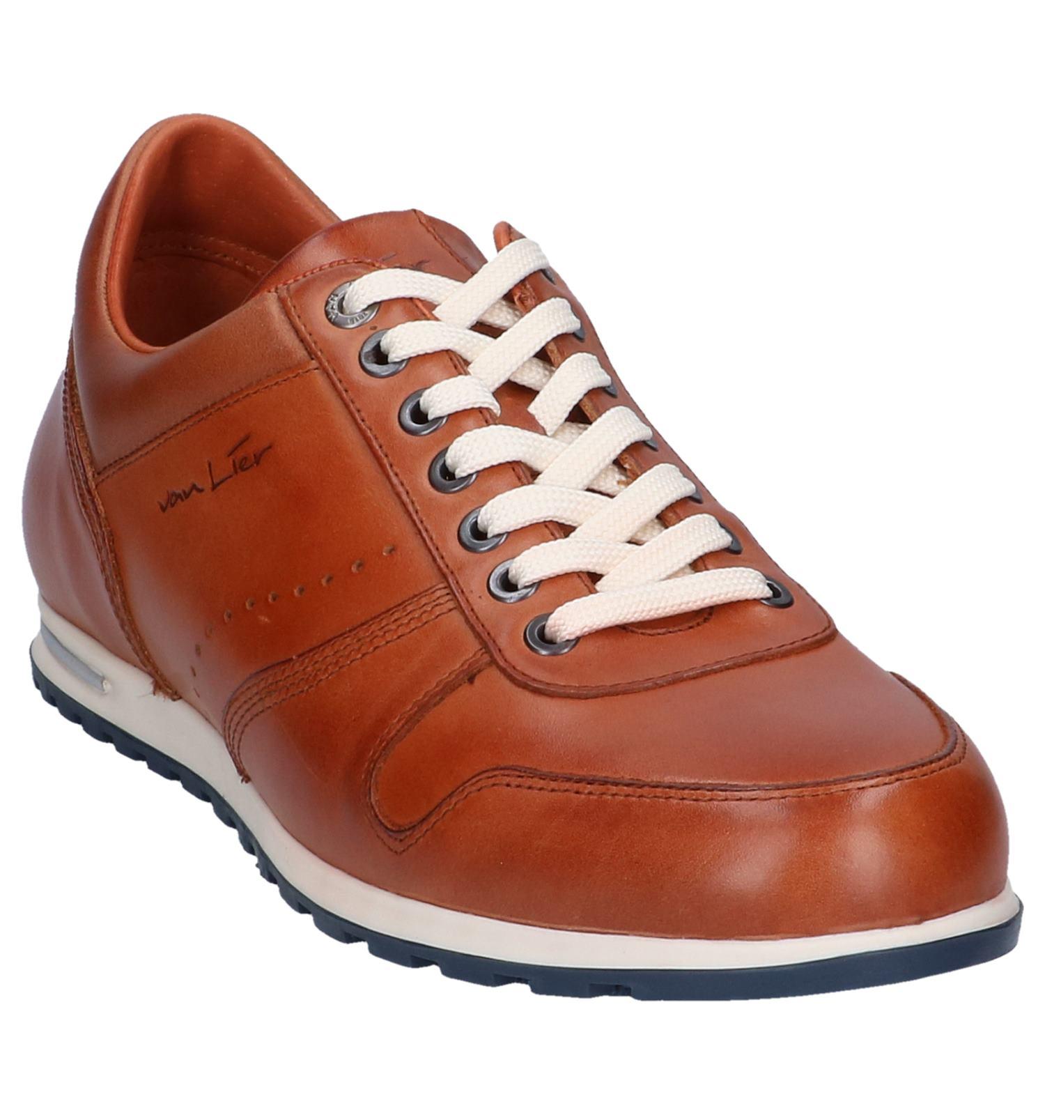 van lier sneakers red