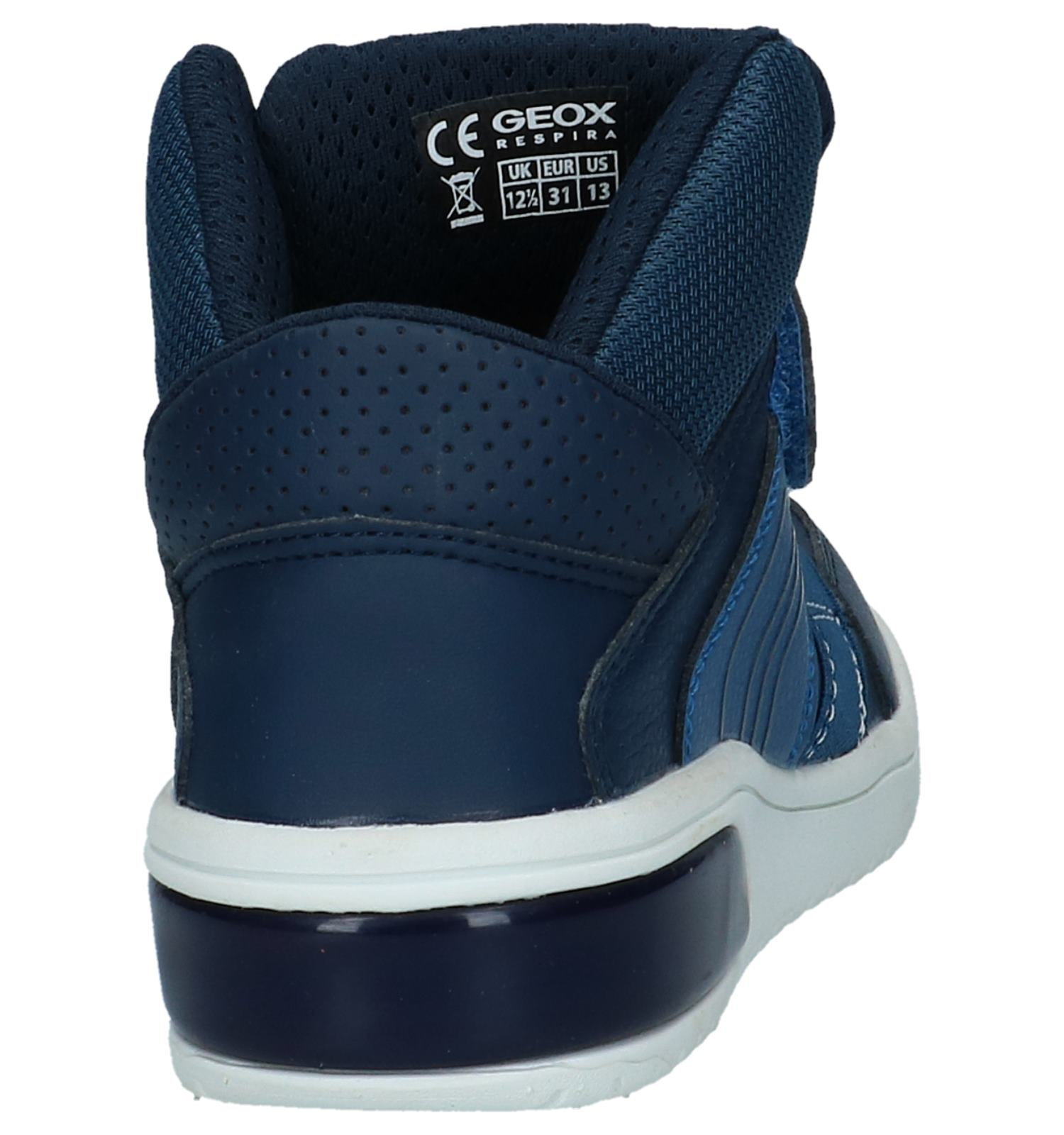 Gratis Hoge Sneakers be Geox Lichtjes Verzend Met Blauwe Torfs 0pqqw5U