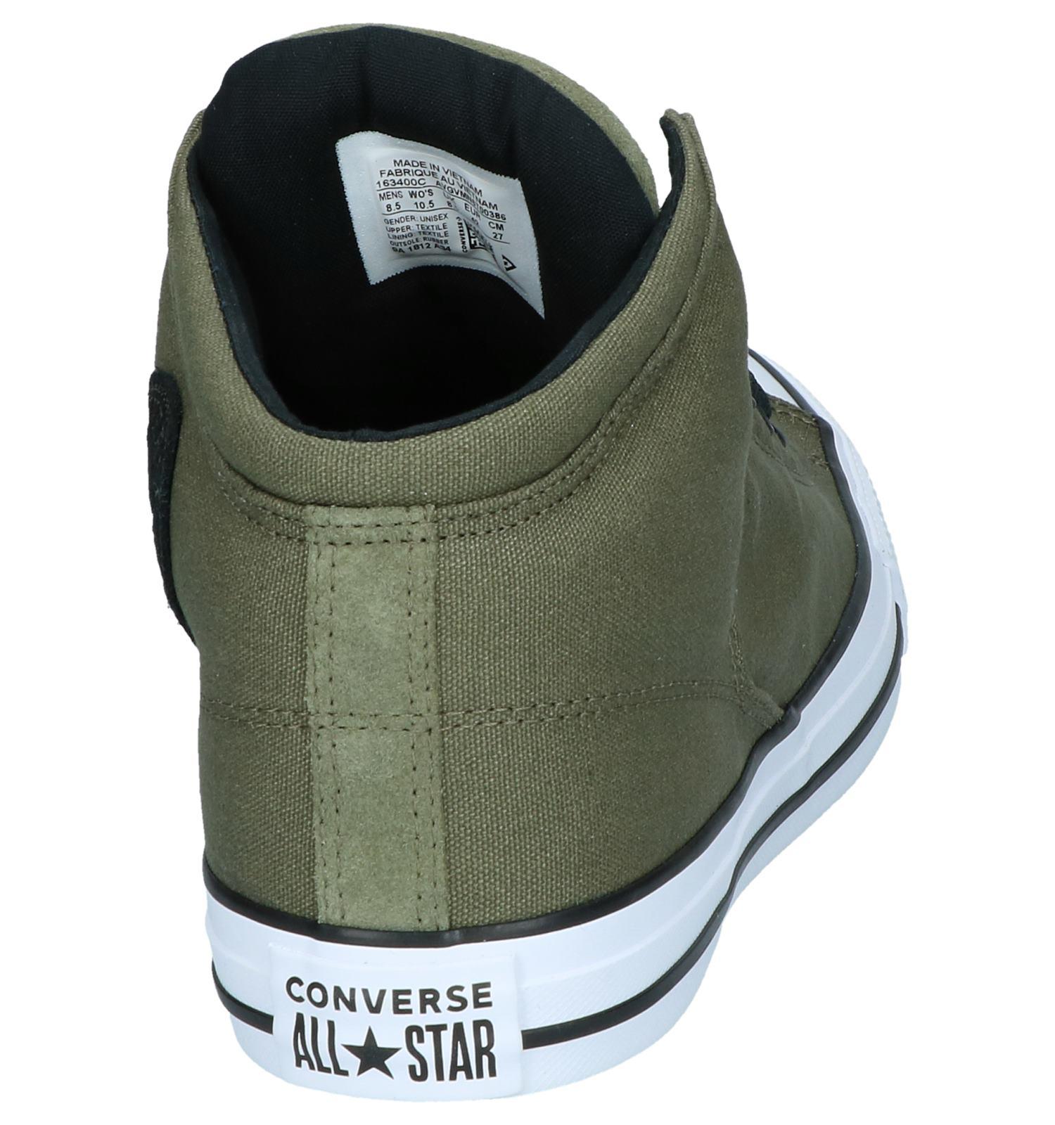 c17a912b224 Kaki Hoge Sneakers Converse Chuck Taylor AS High Street | TORFS.BE | Gratis  verzend en retour