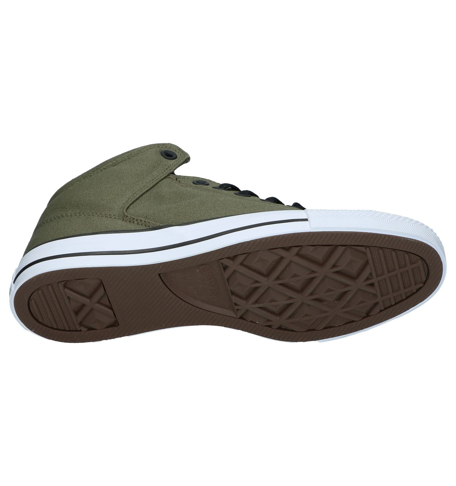 456b606aed6 Kaki Hoge Sneakers Converse Chuck Taylor AS High Street | TORFS.BE | Gratis  verzend en retour
