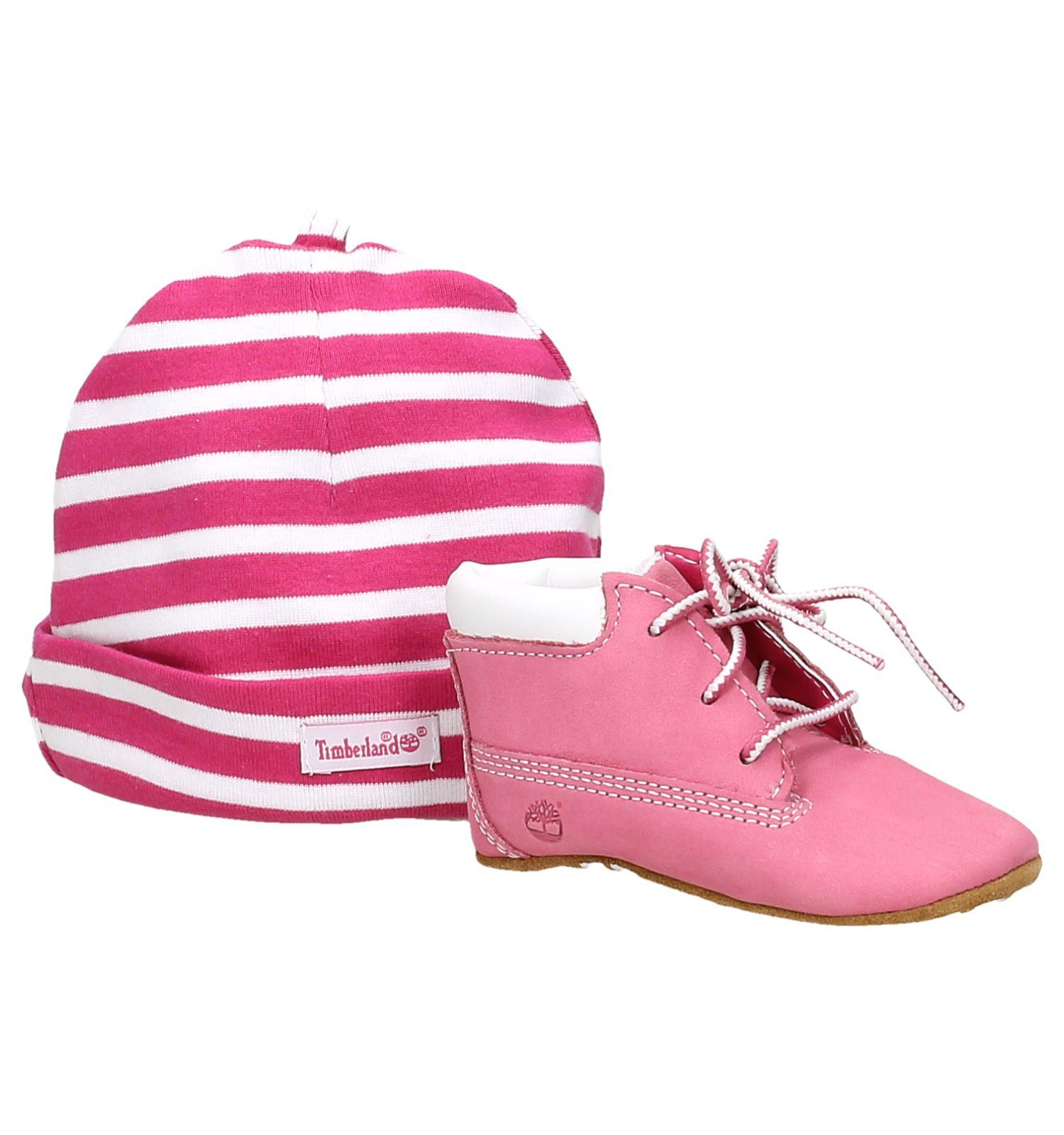 Timberland babyschoenen roze