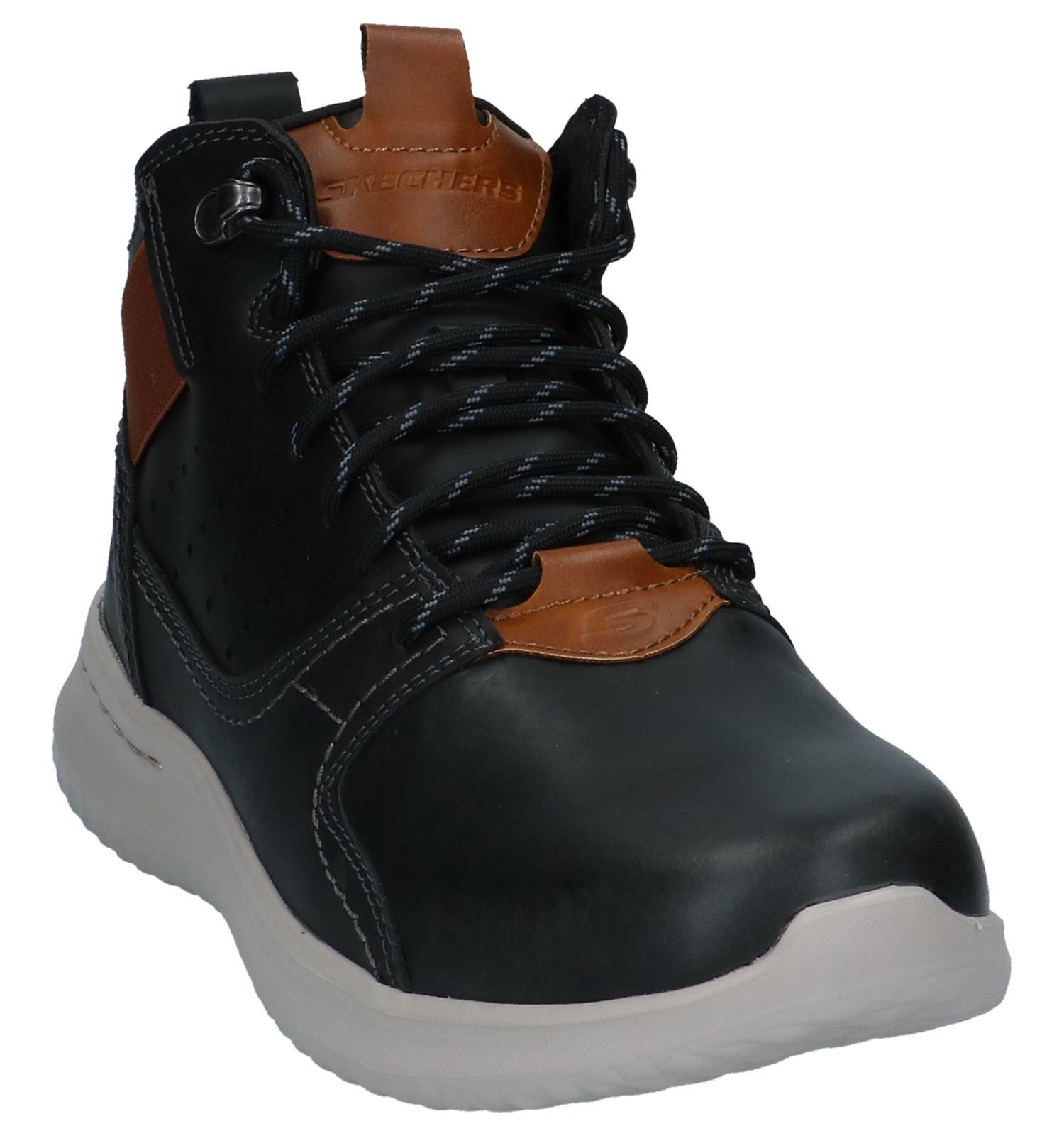 Skechers Chaussures hautes (Noir)   TORFS.BE   Livraison et