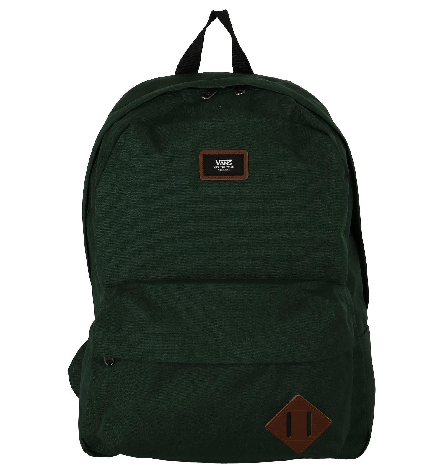 df16559fed5c8b Donkergroene Rugzak Vans Old Skool II Backpack