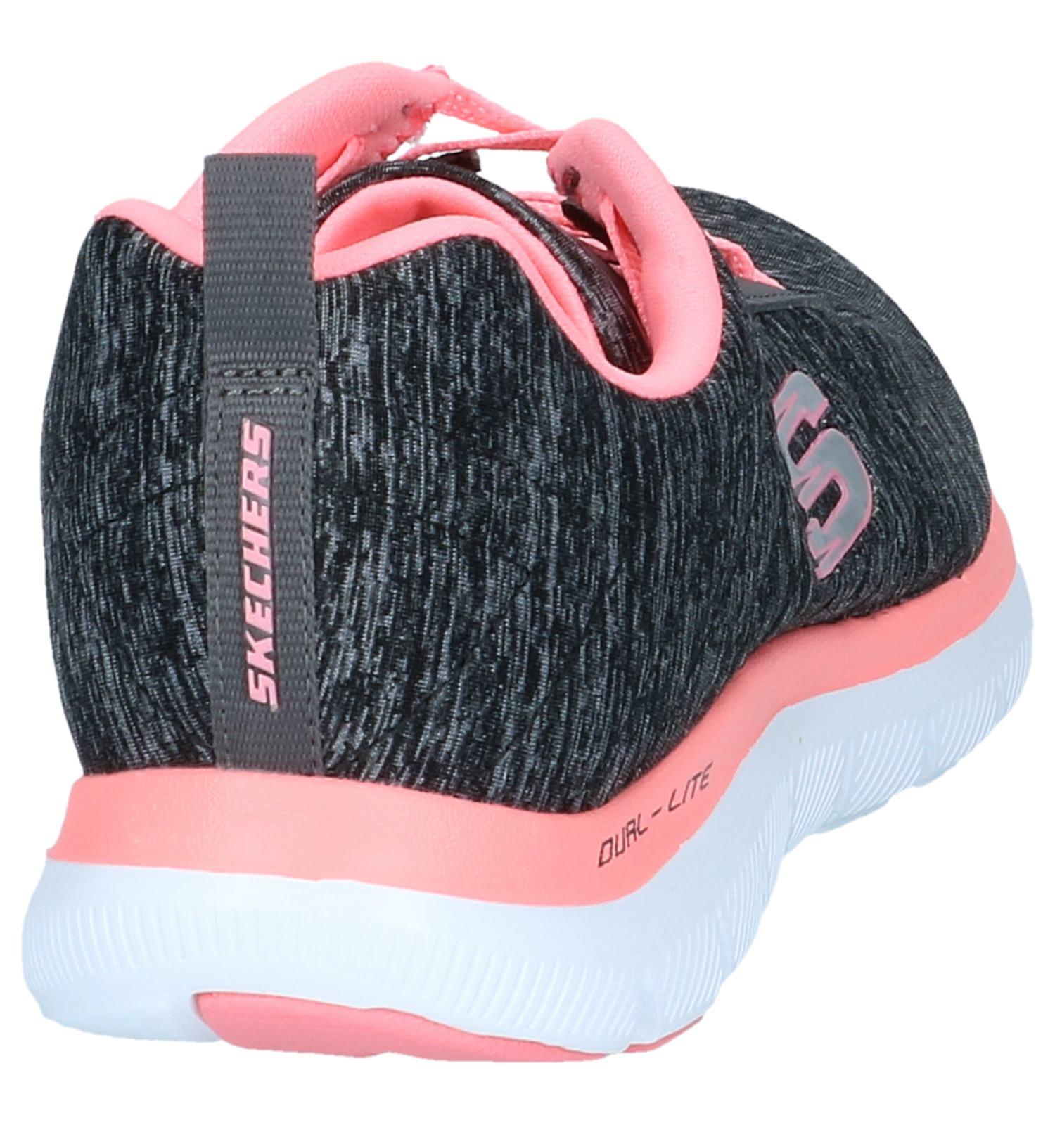 Donkergrijze Sneakers Skechers Flex Appeal | TORFS.BE