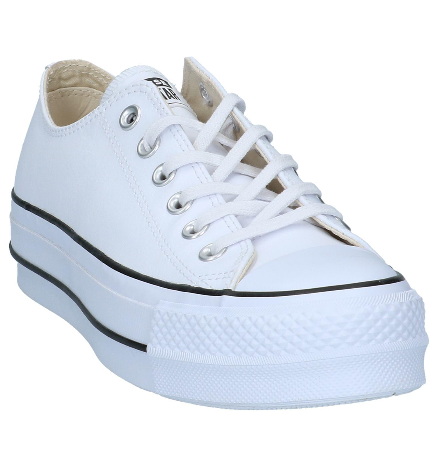 44769a4203a Witte Lage Geklede Sneakers Converse Chuck Taylor All Stars | TORFS.BE |  Gratis verzend en retour