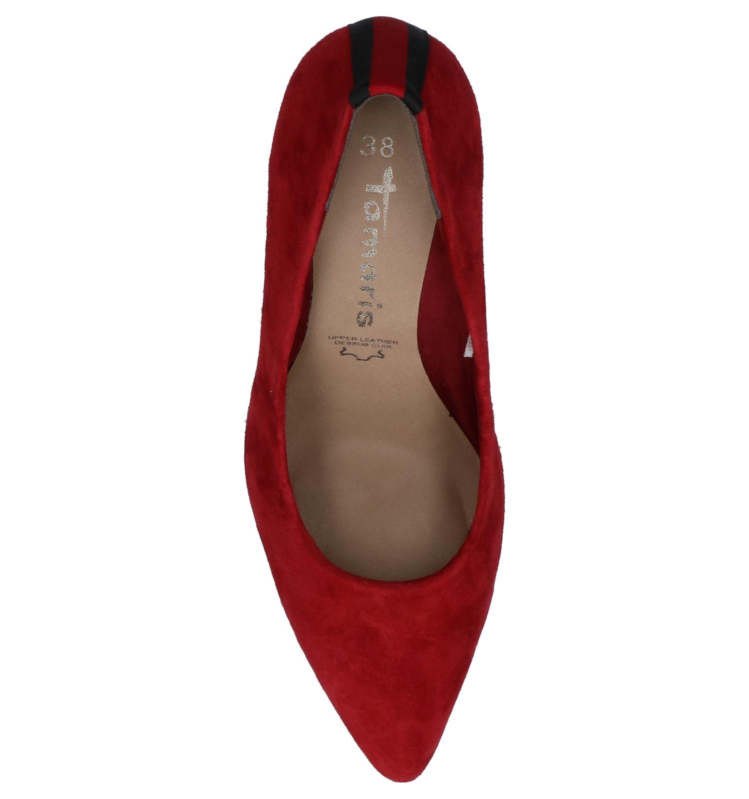 Tamaris Escarpins classique en Rouge | TORFS.BE | Livraison
