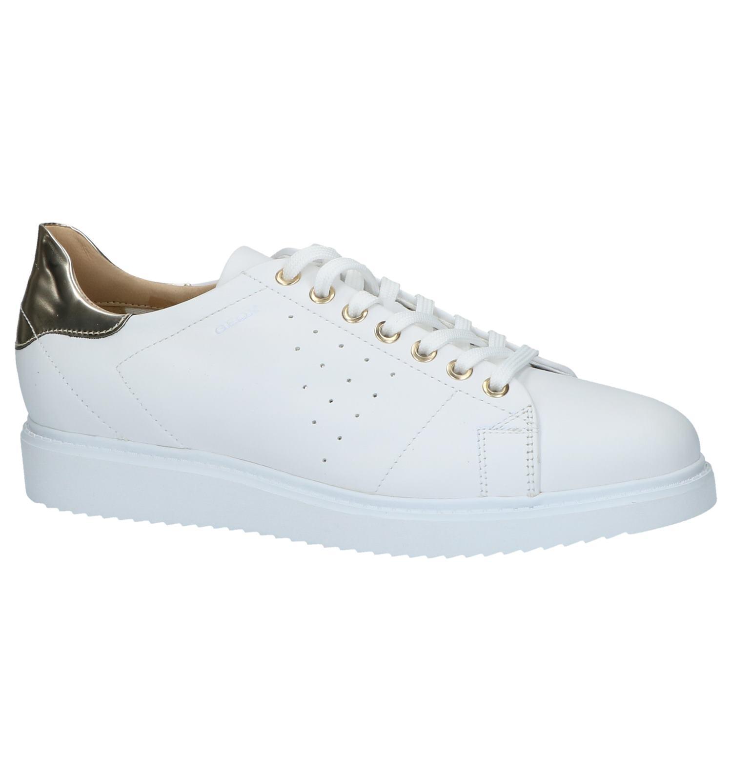 5b749e6967481e Witte Lage Geklede Sneakers Geox Thymar