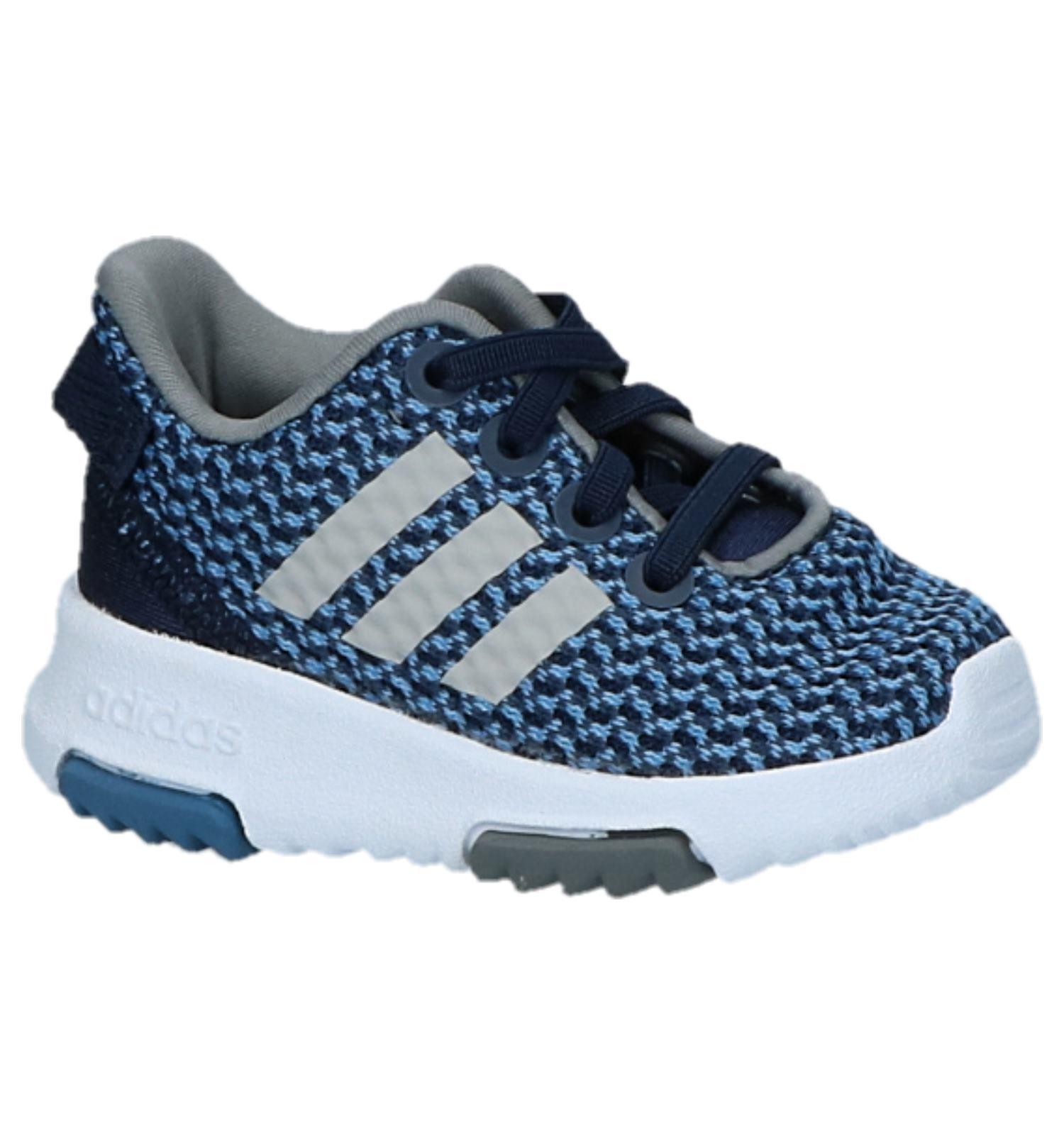 0cc3be19ac9 Donkerblauwe Sneakers adidas Racer TR | TORFS.BE | Gratis verzend en retour